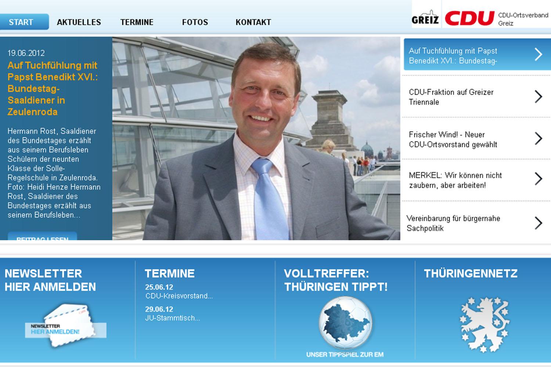 Neuer CDU-Internetauftritt online