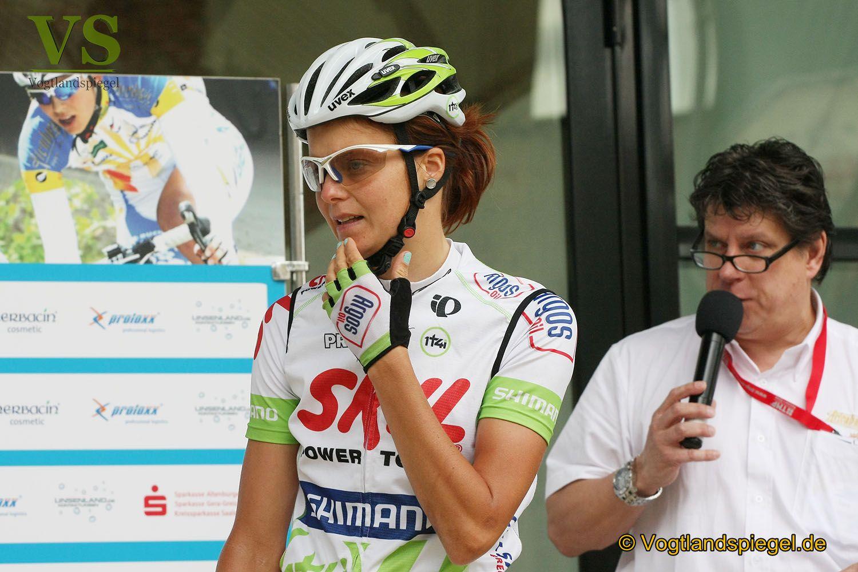 25. Internationale Thüringen-Rundfahrt der Frauen macht Station in Greiz