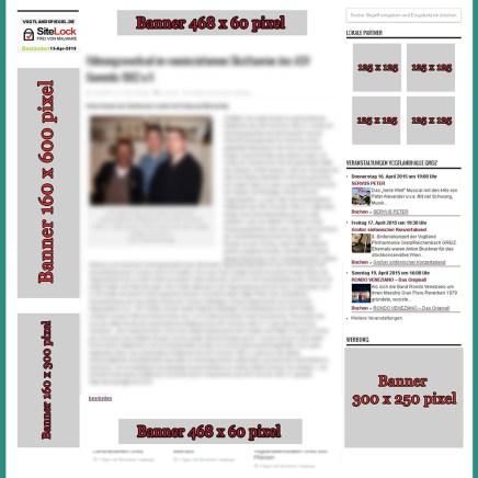 Bannerwerbeplatz Artikel