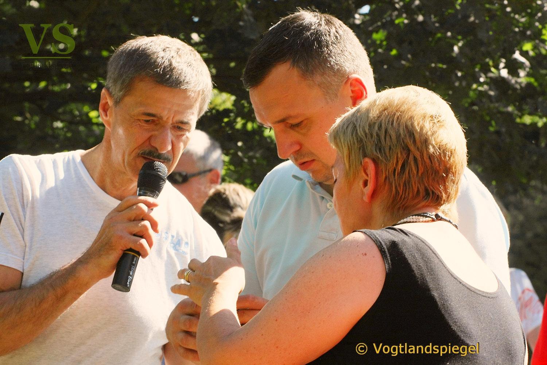Sommerfest in der Neumühle mit Ruderwettbewerb