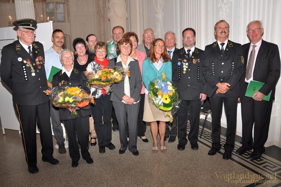 Verleihung Denkmalschutzpreis des Landkreises Greiz