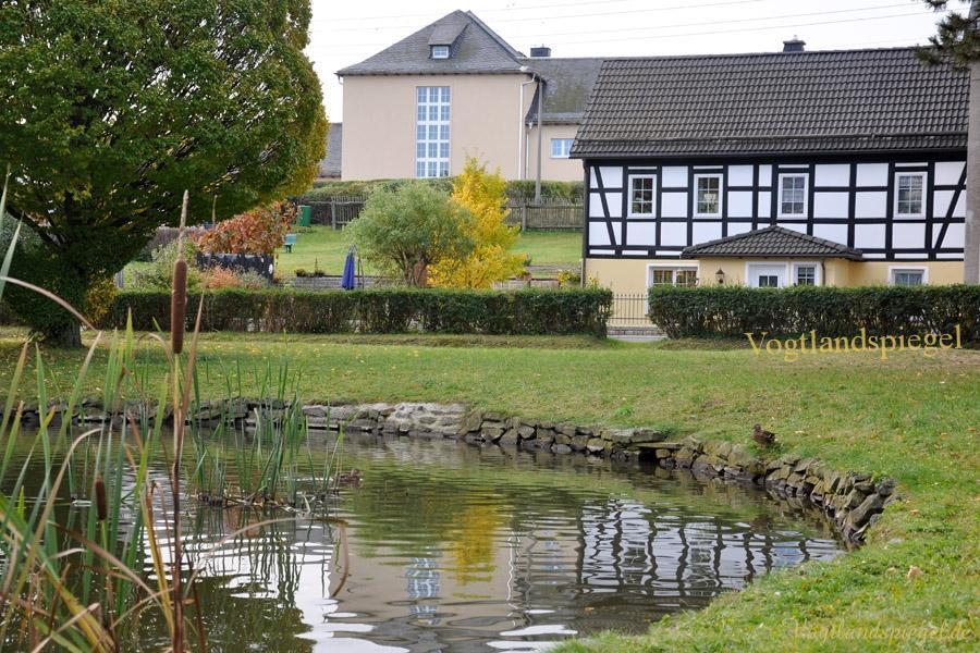 Blick auf die Mohlsdorfer Grundschule