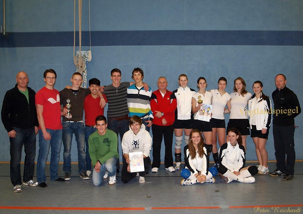 Kreisfinale Volleyball WK I bei  Jugend trainiert für Olympia»