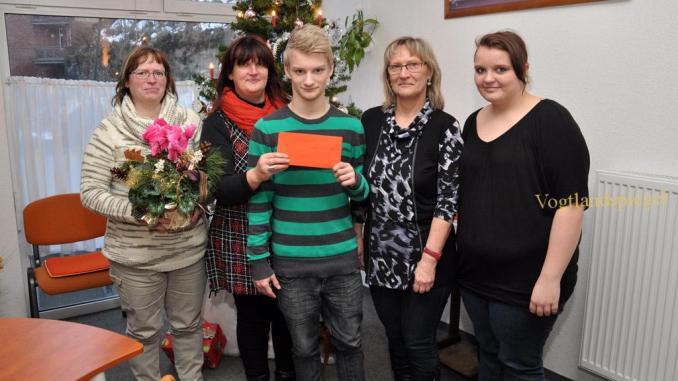 Spendengelder des Benefiz-Kochens in der Lessing-Regelschule an Behinderverband Greiz e.V. übergeben