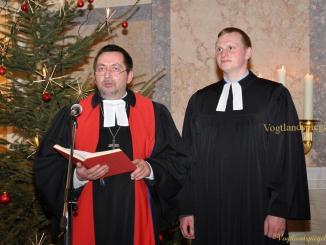 """Einführung Pfarrer Michael Riedel an der Stadtkirche """"St. Marien"""" Greiz"""
