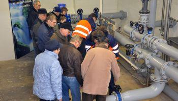 Tag der offenen Tür zum Weltwassertag 2013 im Wasserwerk Greiz-Schönfeld des Zweckverbandes TAWEG