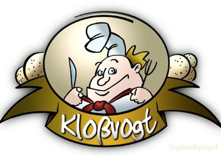 """Logo des Wettbewerbs """"Kloßvogt"""""""