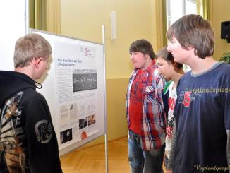 Ausstellungseröffnung in Greizer Regelschule G.E.Lessing - Wir wollen freie Menschen sein!