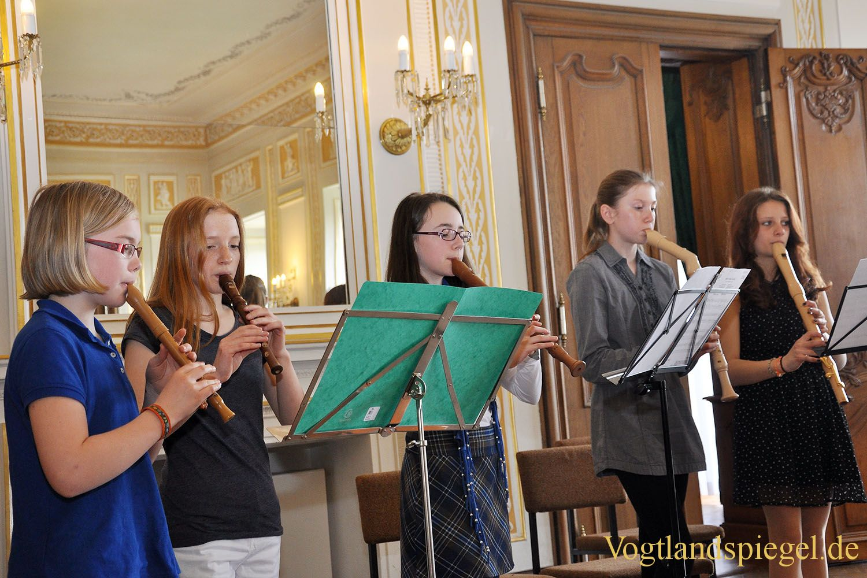 Frühlingskonzert der Musikschule Bernhard Stavenhagen im Unteren Schloss