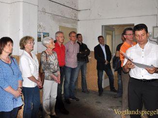 Neustadtrundgang mit dem Greizer Bürgermeister