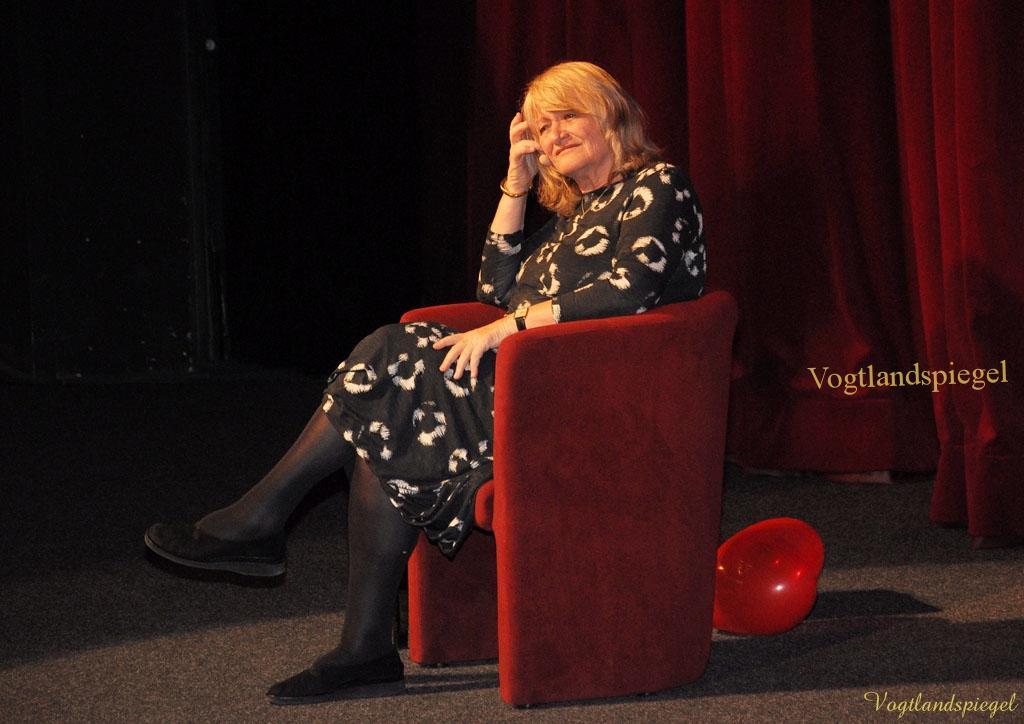 Alice Schwarzer liest in Greizer Vogtlandhalle