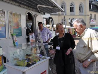 Verbraucherzentrale Thüringen berät auf Greizer Markt
