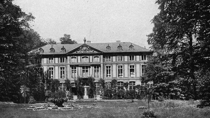 Das Sommerpalais im Greizer Park anno 1925