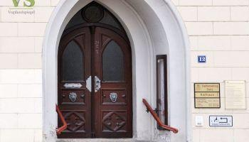 Rathaustür Greiz