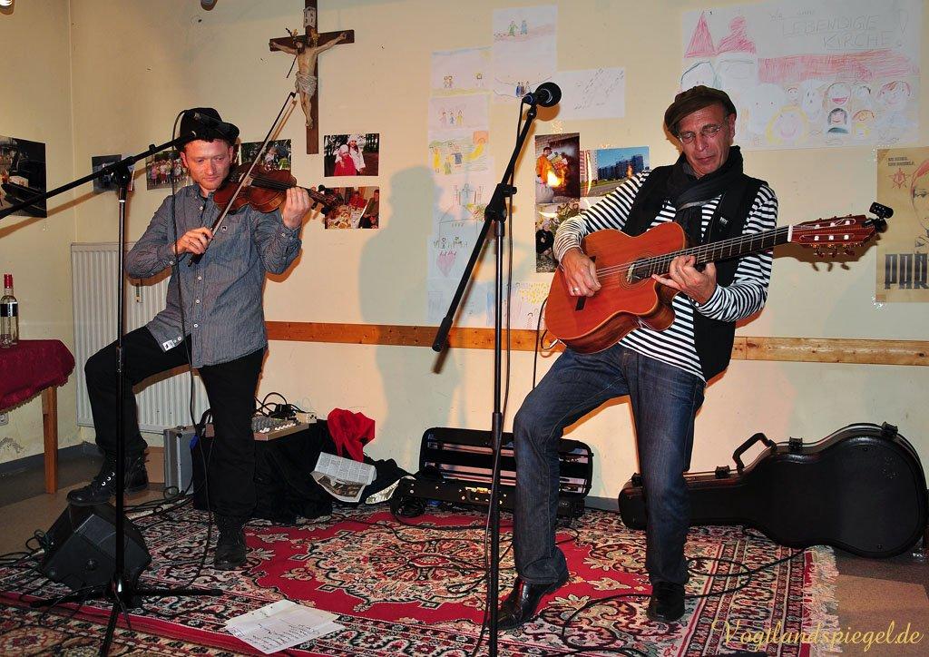 Im Greizer Katholischen Gemeindentrum tickte die russische Seele