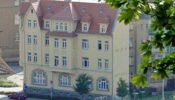 Asylbewerberheim in der Greizer Prof.-Schneider-Str. 2