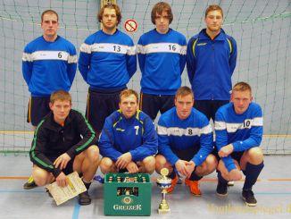 Wanderpokal des Neujahrsturniers für SG Hohndorfer SV
