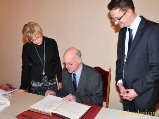 Bundestagspräsident Prof. Dr. Norbert Lammert besuchte die Stadt Greiz