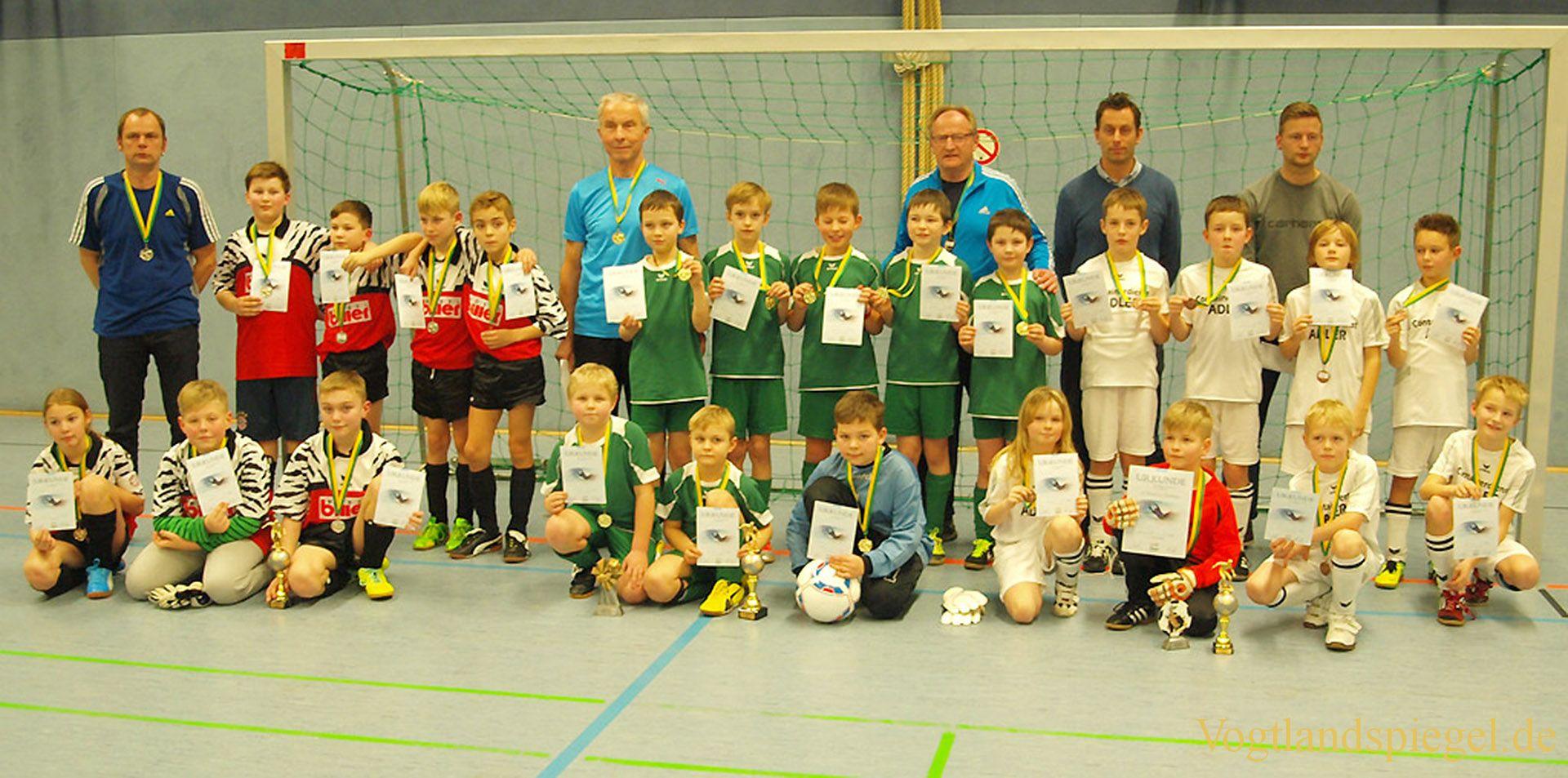 Rudi-Geiger-Pokal im Hallenfußball