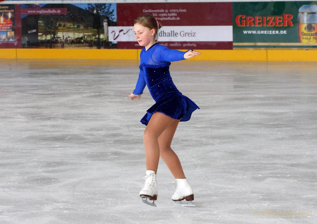 Schaulaufen der Sektion Eiskunstlauf im Hainberger SV Greiz