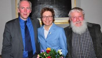 Heike Taubert und Jakob von Weizsäcker bei Prominente im Gespräch