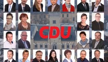 CDU-Kandidaten für den Stadtrat Greiz