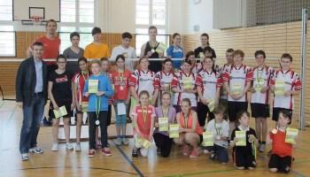 Kreisjugendspielen 2014 im Badminton