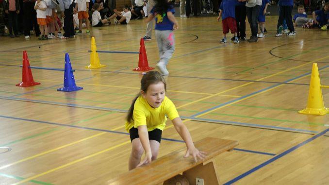 Bummi-Sportfest in Greizer Kurt-Rödel-Halle