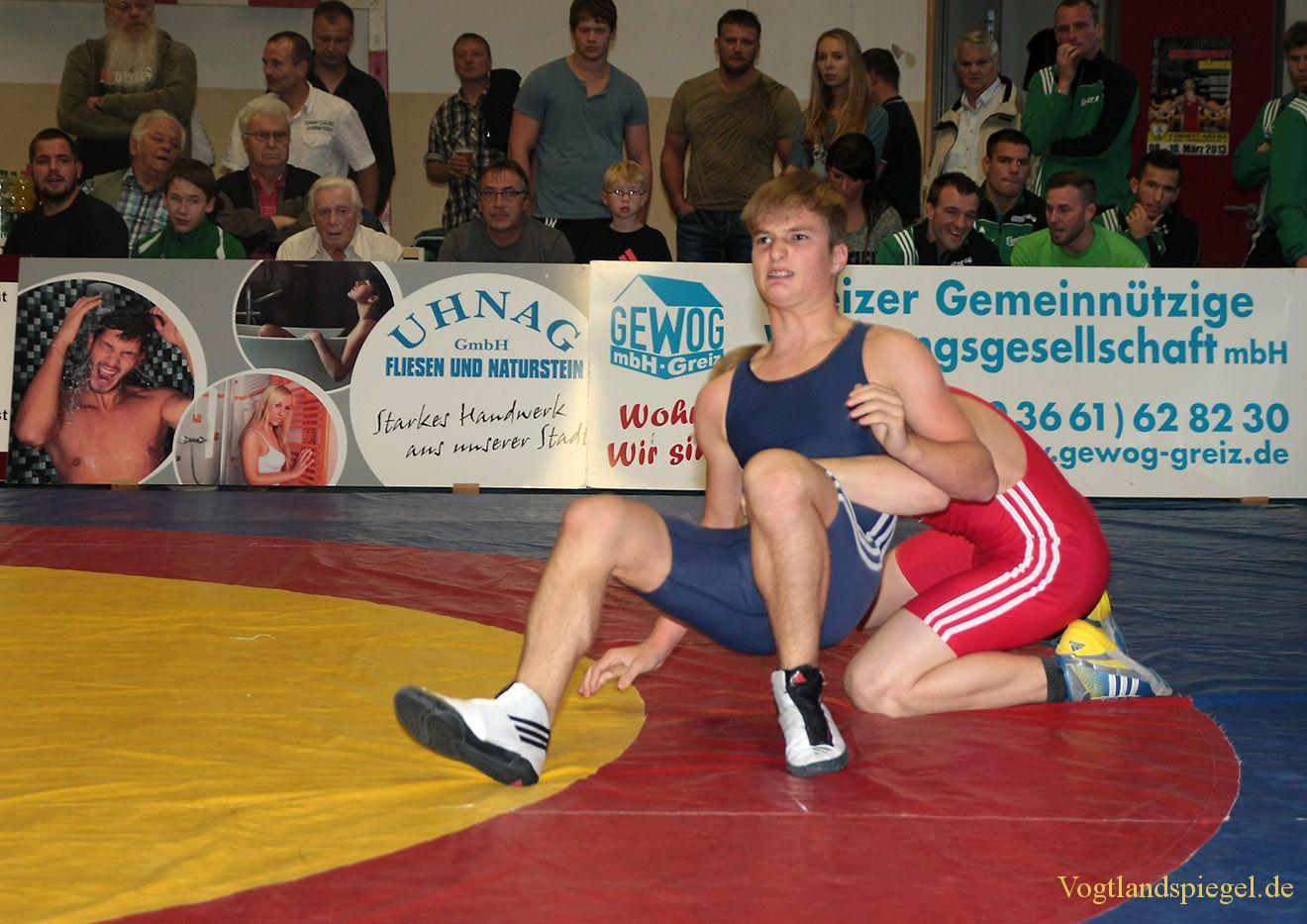 Landesliga Thüringen Ringen: RSV Rotation Greiz II setzt Siegesserie fort