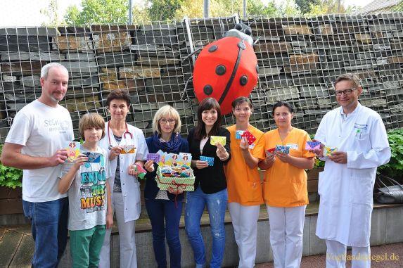Medi-Täschchen für Greizer Kinderklinik