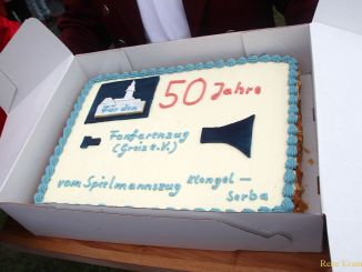 50. Geburtstag des Fanfarenzuges Greiz gefeiert