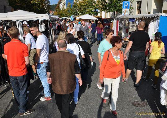 Greizer und ihre Gäste feiern das Neustadtfest