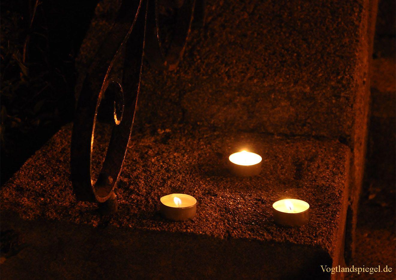 Greizer gedenken Pogromnacht vom 9. November 1938