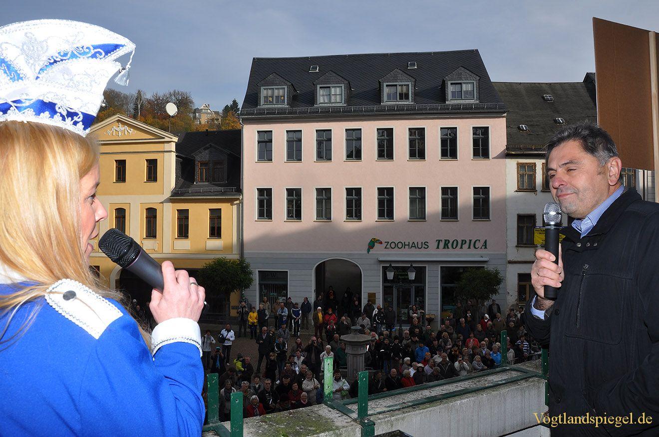 Greizer Rathaus als Unterpfand der Macht