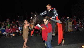 Gans tolles Martinsfest in Greiz gefeiert