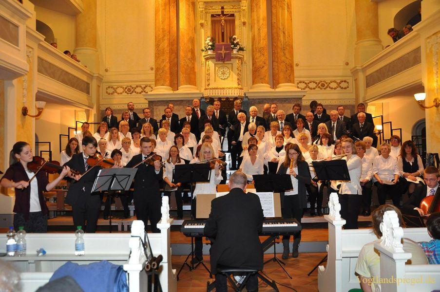 Adventssingen in der Stadtkirche Sankt Marien in Greiz