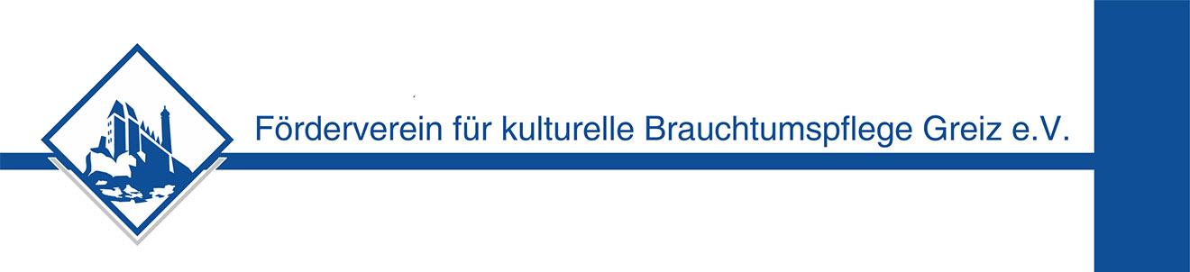 Förderverein für kulturelle Brauchtumspflege Greiz