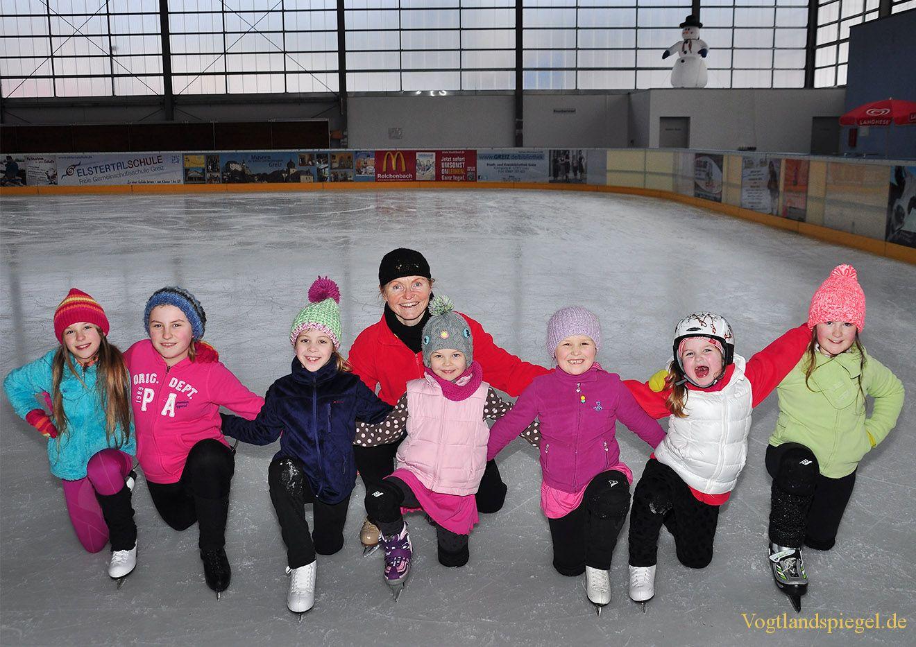 Eiskunstläufer des Hainberger SV bereiten sich auf Wettkämpfe vor
