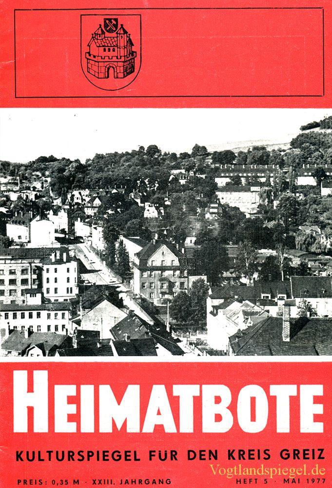Greizer Heimatbote Mai 1977