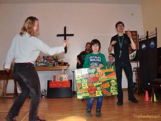 Mc Turtle - das Kinderprogramm in der Pohlitzer Kirche