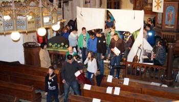 70 Gäste kamen zur Jugendpassionsandacht in die Pohlitzer Kirche