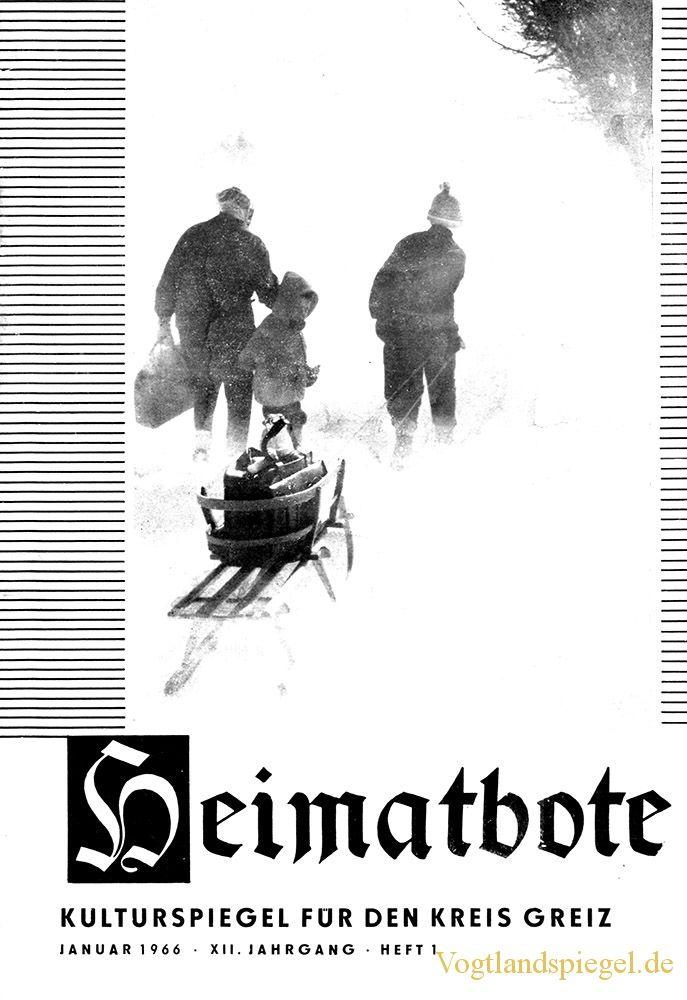Greizer Heimatbote Januar 1966