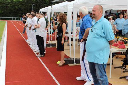 Greizer Fanfarenzug bei der 20. Landesmeisterschaft im Spielmannswesen