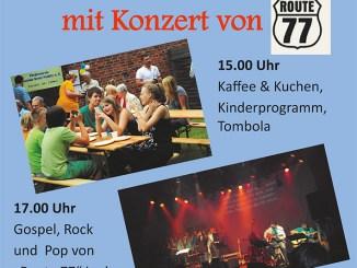 Plakat zum Pohlitzer Gemeindefest.