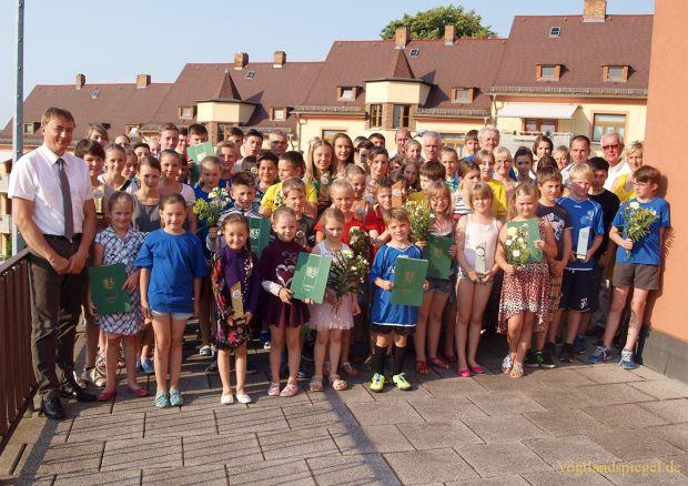 Kreisjugendspiele 2015 im Landkreis Greiz feierlich beendet