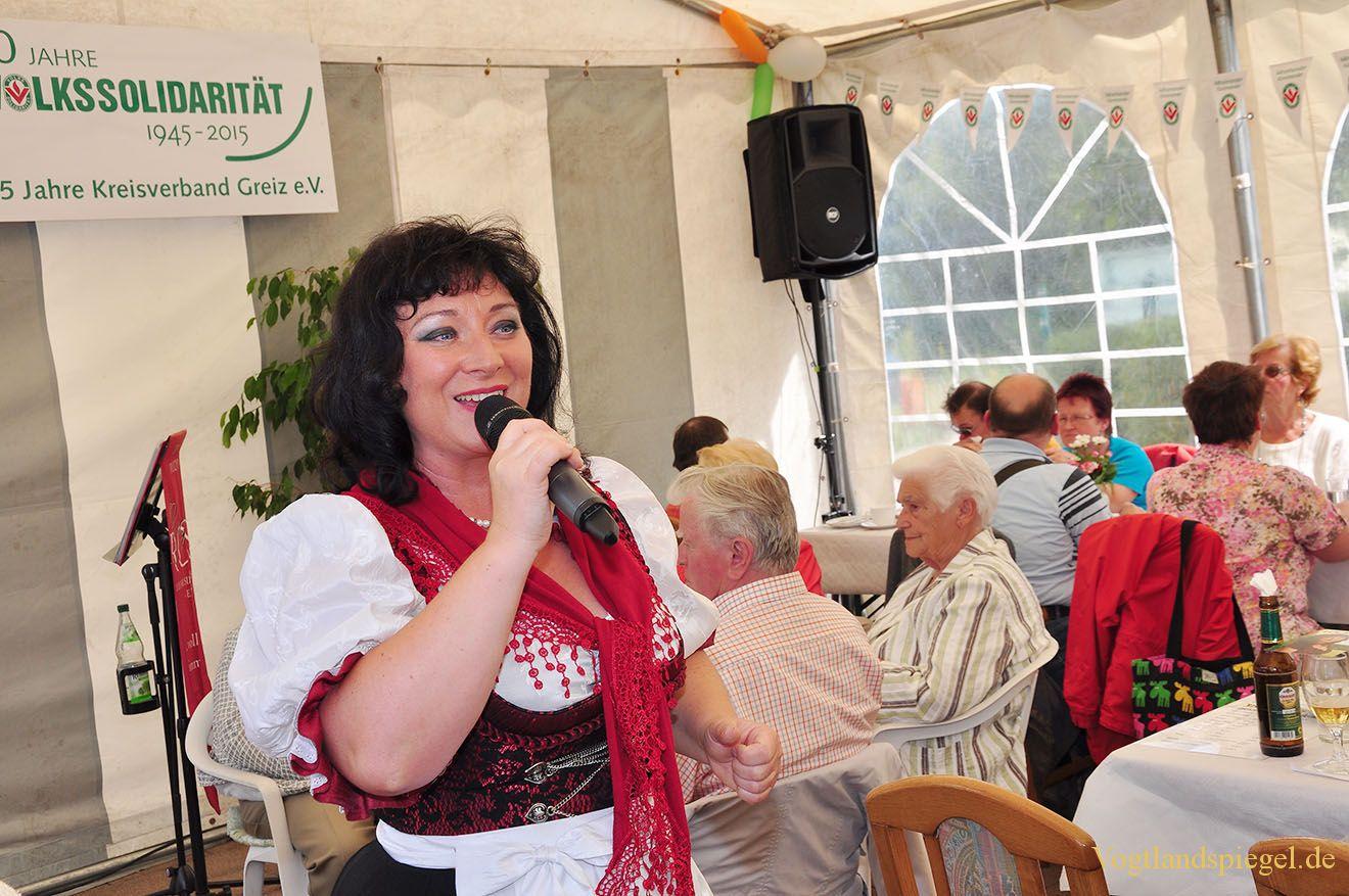 Fröhliches Sommerfest der Greizer Volkssolidarität