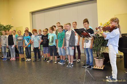 83 neue Schüler am Greizer Ulf-Merbold-Gymnasium begrüßt