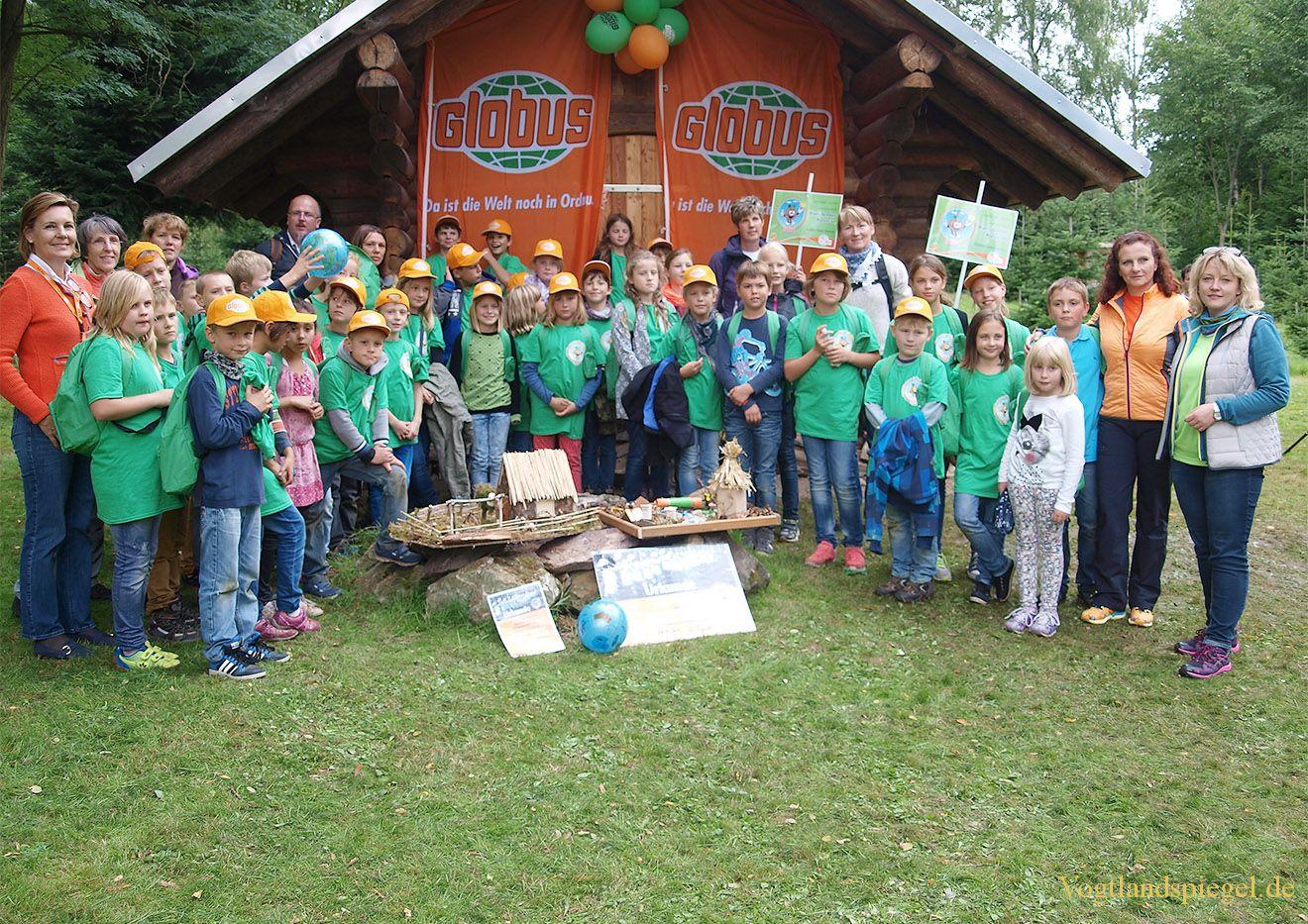 Globus-Kinder-Umwelttag 2015 in Waldhaus