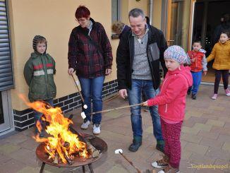 Kinderhaus Am Elsterufer feiert Herbst-und Lichterfest
