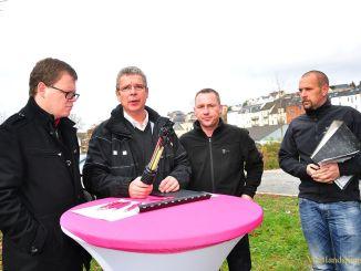 Buddeln für Breitband in Greiz